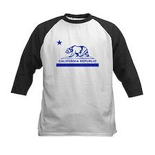 california bear camo blue Baseball Jersey