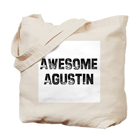 Awesome Agustin Tote Bag