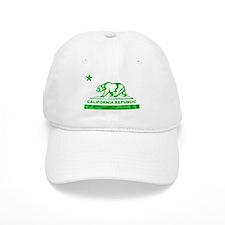 california bear camo green Baseball Baseball Cap