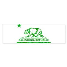 california bear camo green Bumper Bumper Sticker