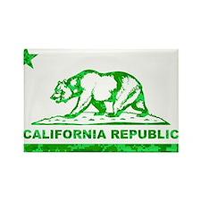 california bear camo green Rectangle Magnet