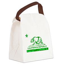 california bear camo green Canvas Lunch Bag