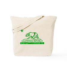 california bear camo green Tote Bag
