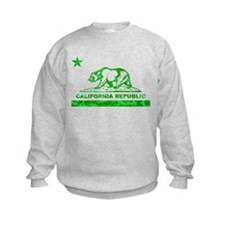 california bear camo green Sweatshirt