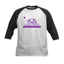 california bear camo purple Baseball Jersey