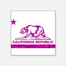 california bear camo pink Sticker