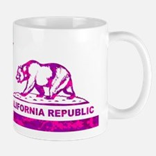 california bear camo pink Mug