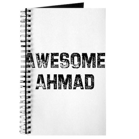 Awesome Ahmad Journal