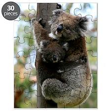 Australian Koala Mother and Baby Puzzle