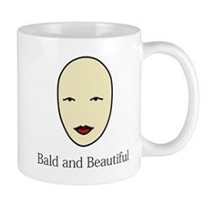 Bald is Beautiful Small Mug