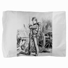The soldier boy - on duty - 1864 Pillow Sham