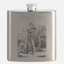The soldier boy - on duty - 1864 Flask