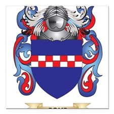 """Boyd Coat of Arms Square Car Magnet 3"""" x 3"""""""