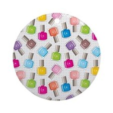 PAINT YOUR NAILS Ornament (Round)