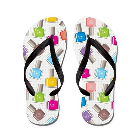 Paint Your Nails Flip Flops By Keepcalmgear