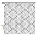 Diamond Denim Pattern Shower Curtain