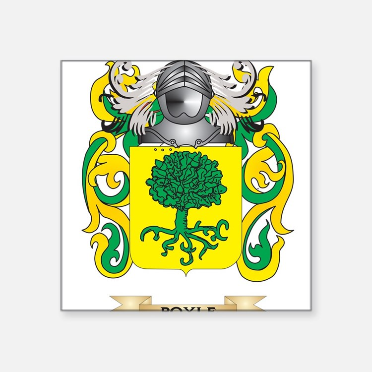 Boyle Coat of Arms Sticker