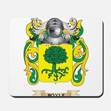 Boyle Coat of Arms Mousepad