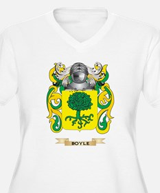 Boyle Coat of Arms Plus Size T-Shirt