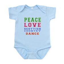 Peace Love Scottish Country Dance Designs Infant B