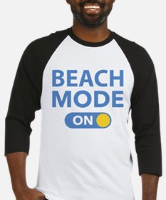 Beach Mode On Baseball Jersey