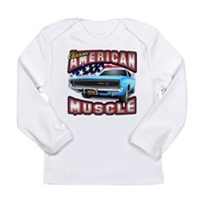 American Muscle - Charger Long Sleeve T-Shirt