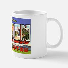 Ogden Utah Greetings Mug
