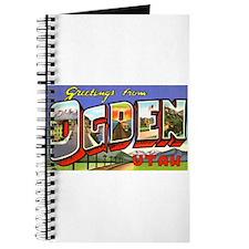 Ogden Utah Greetings Journal