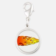 Racing Flames Charms