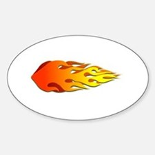 Racing Flames Decal
