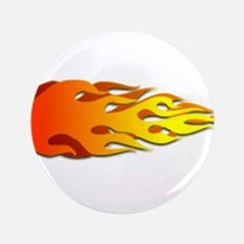 "Racing Flames 3.5"" Button"
