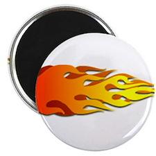 Racing Flames Magnet