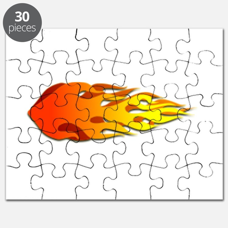 Racing Flames Puzzle