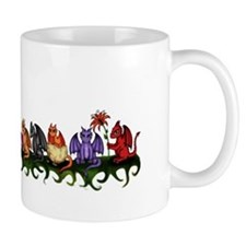 many cute Dragons Mug