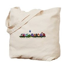 many cute Dragons Tote Bag
