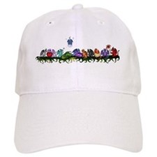many cute Dragons Baseball Baseball Cap