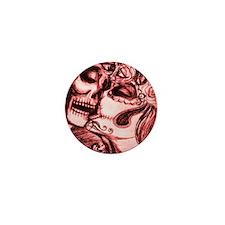 Amor De Calaveras Mini Button