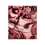Sugar skull Blankets