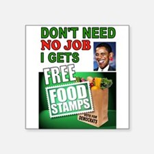 FREE FOOD STAMPS Sticker