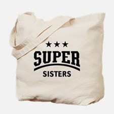 Super Sisters (Black) Tote Bag