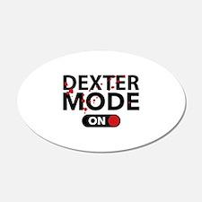 Dexter Mode On 22x14 Oval Wall Peel