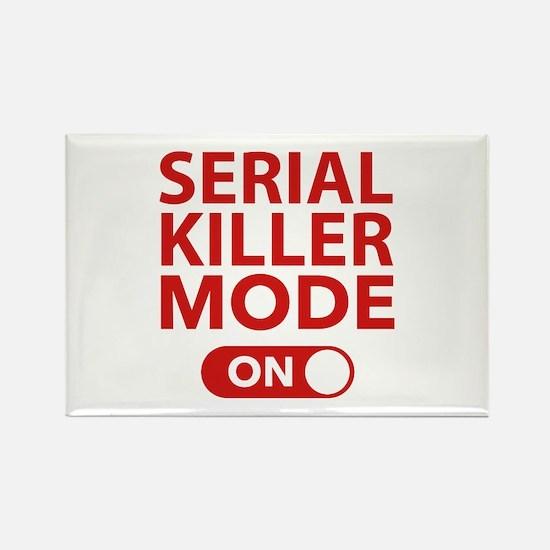 Serial Killer Mode On Rectangle Magnet
