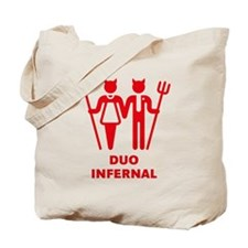 Duo Infernal Tote Bag