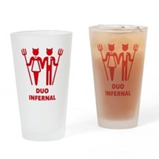 Duo Infernal Drinking Glass