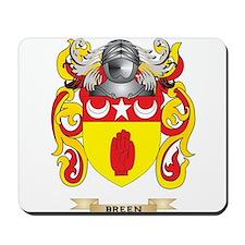 Breen Coat of Arms Mousepad