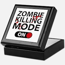 Zombie Killing Mode On Keepsake Box