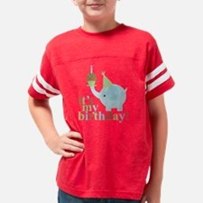 Blue Elephant Youth Football Shirt