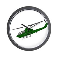 Attack Helicopter Wall Clock