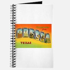 Odessa Texas Greetings Journal