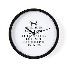 Harrier Dad Designs Wall Clock